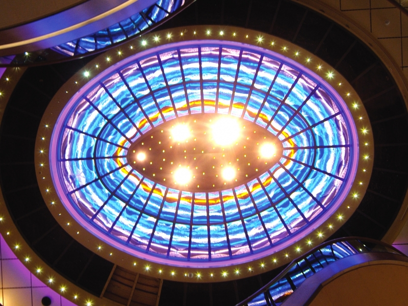 Arcadia Glass ceiling